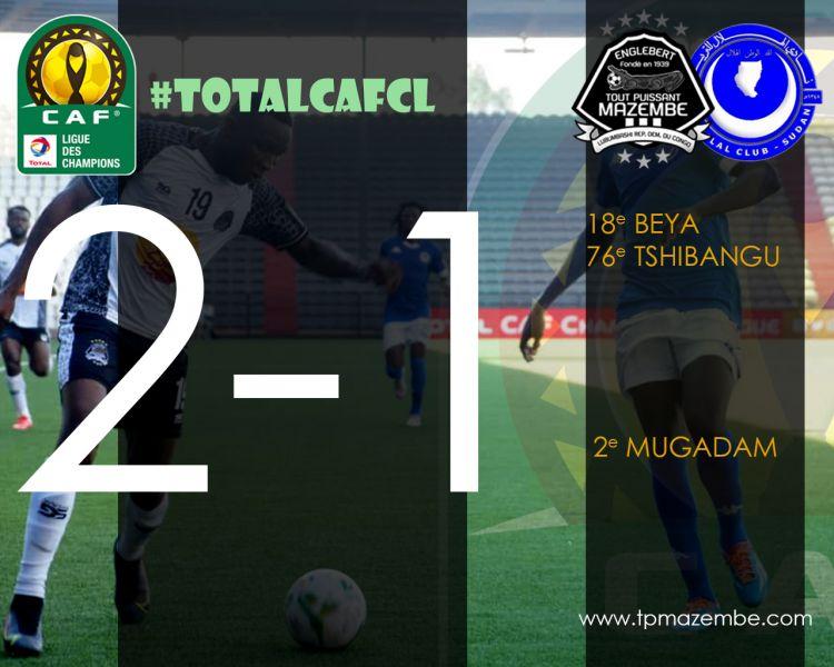 Score final TP Mazembe-Al Hilal