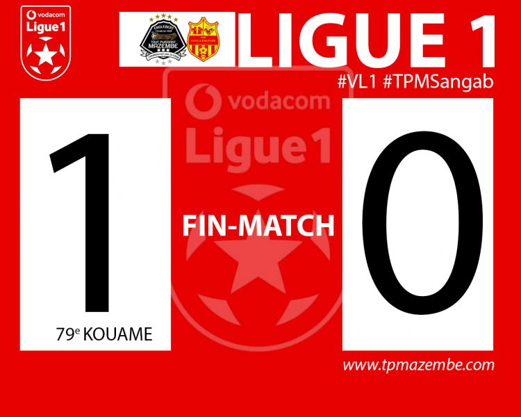 Score final TP Mazembe-SM Sanga Balende