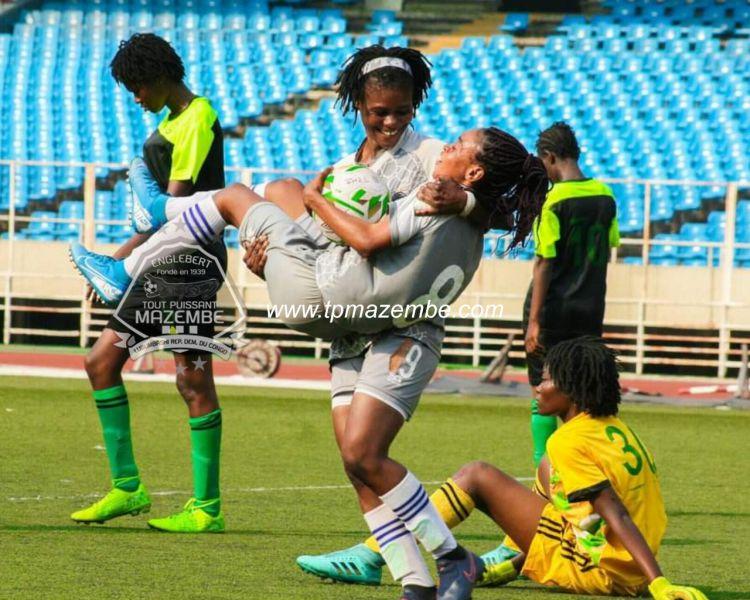 19 buts passés à VC Mbandaka et 12 à DDK : les dames ratissent large!