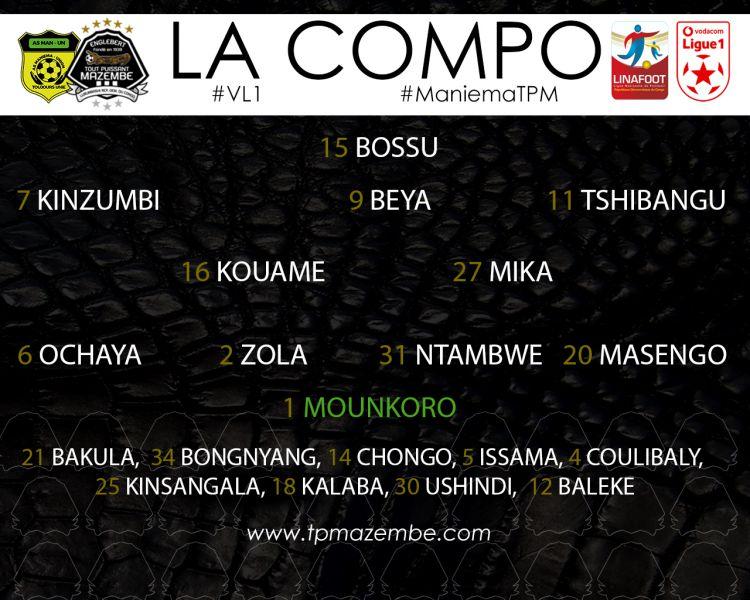 Composition AS Maniema Union-TP Mazembe