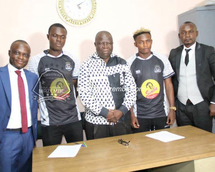 NGIMBI et RADJABU ont signé