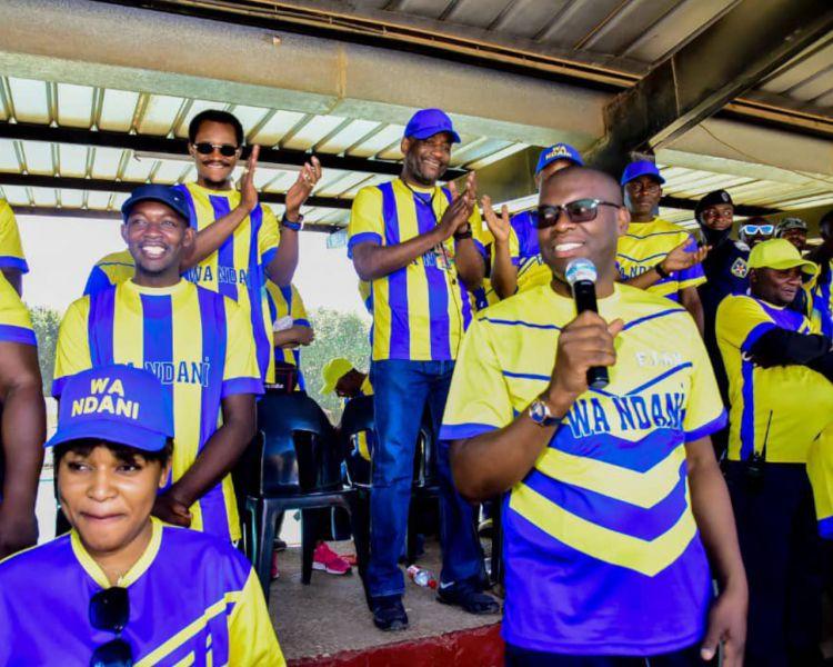 KYABULA félicité par le Chairman
