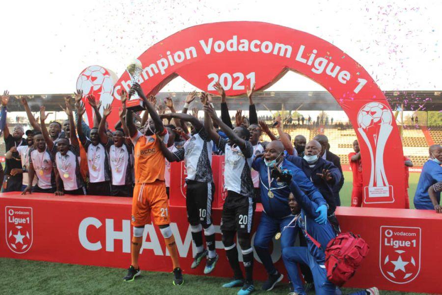 Le sponsor de la L1 a fêté son champion : Mazembe!