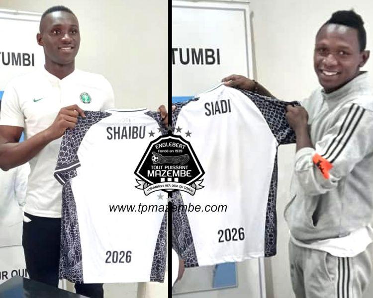 SHAIBU et SIADI enfilent les gants avec le TPM