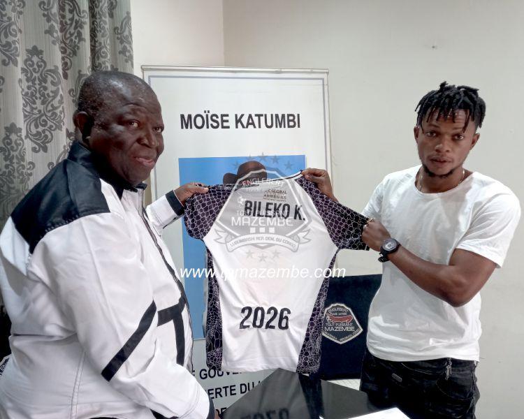 Kelvin BILEKO MBAKI au TPM
