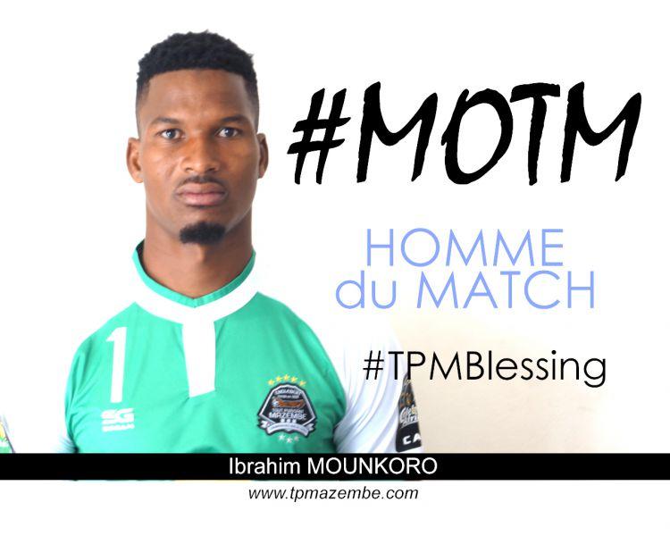 Ibrahim MOUNKORO plébiscité