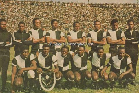 TP Mazembe en 1980